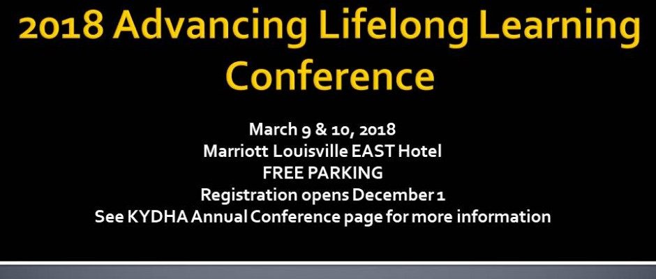 2018 Advancing Lifelong Learning Conference